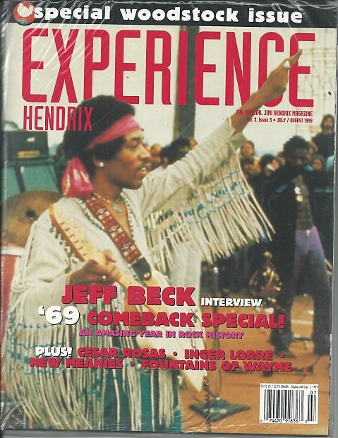 Experience Hendrix-Magazine, July/August 1999