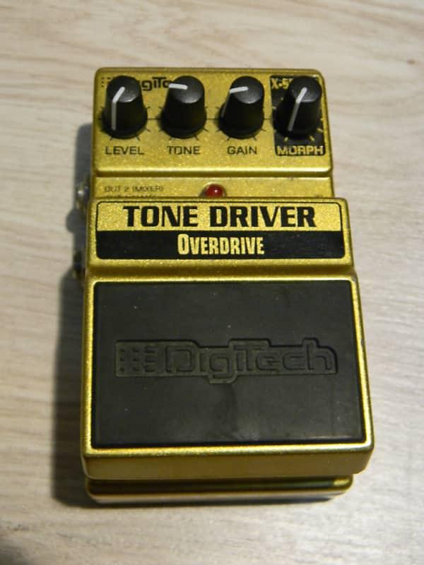 DIGITECH Tone Driver XTD Overdrive Pedal treter Effekt Gitarre Distortion image