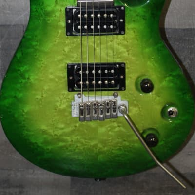 Patrick Eggle Berlin pro 1991 Green burst for sale