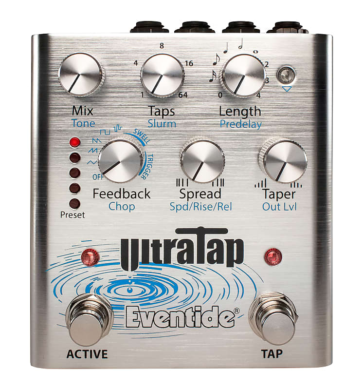 A view of the Eventide UltraTap