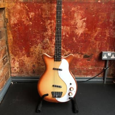 Danelectro 59DC Long Scale Bass Copperburst for sale