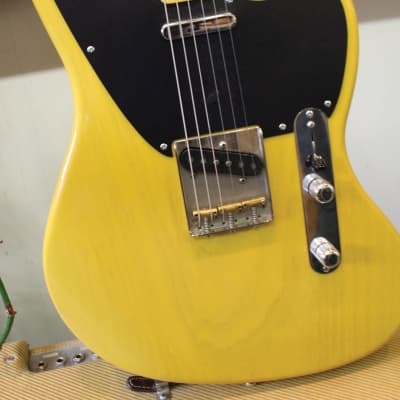 Crook Telemaster Recent Butterscotch on ash body for sale