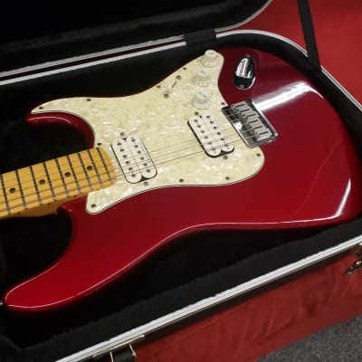 Fender American Standard Double Fat Strat 1998 Candy Apple Red W/case for sale