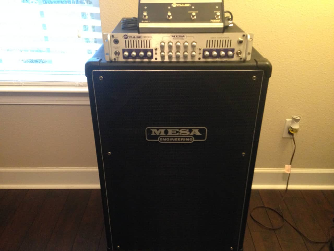 Mesa Boogie 412 Cabinet Wiring Mail Engineering Schematics Cab Vintage 215 Bass M Pulse 600 W Foot Switch Reverb
