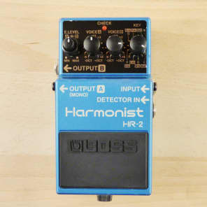 Boss HR-2 Harmonist - Guitar Harmonizer Pitch Shifter Octave Divider Effects Pedal -  VG W/ Box!