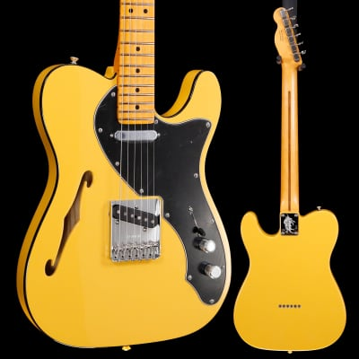 Fender Britt Daniel Telecaster Thinline Amarillo Gold used 994 6lbs 8.9oz for sale