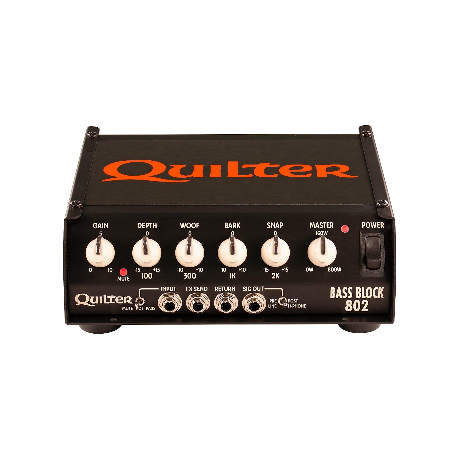 Quilter Bass Block 802 800W Bass Amplifier Head
