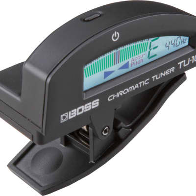 Boss TU-10 Clip-On Chromatic Tuner - Ships FREE Lower 48 States!