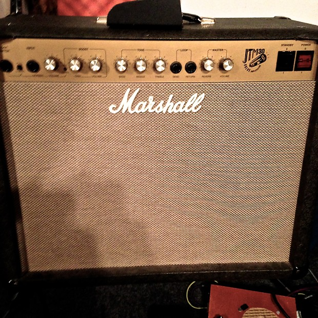 marshall jtm 30 british made tube amp with bias pot mod reverb. Black Bedroom Furniture Sets. Home Design Ideas