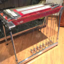 """1966  ZB D-11 Vintage """"Pedalmaster"""" Pedal Steel Guitar  Red Burn  Lacquer!"""
