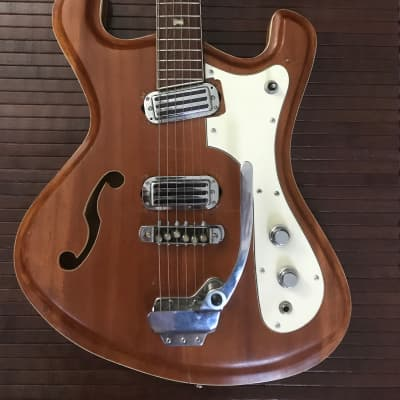 Noble 686-2HT 1968 Mosrite Combo Natural Wood for sale