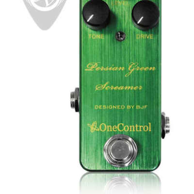 One Control Persian Green Screamer - Designed By BJF for sale