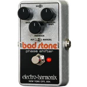 Electro-Harmonix Bad Stone Reissue Phaser Shifter Guitar Effect Pedal