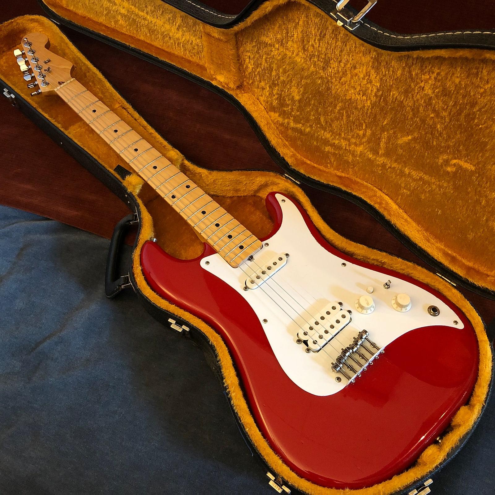 Fender Bullet H-1 Modded Vintage Dakota Red 1983 w/ OHSC