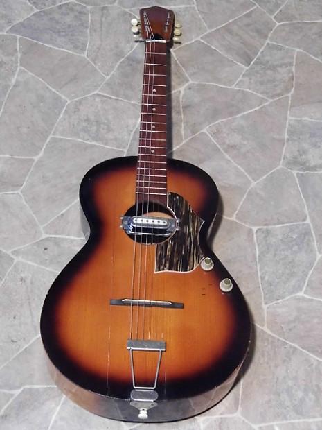 Vintage Framus 5 1 Sc E Parlor Jazz Blues Acoustic Electric Reverb