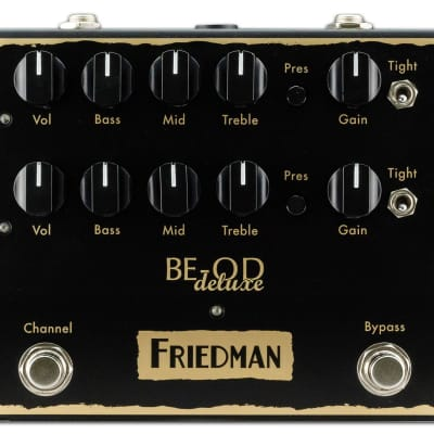 Friedman BE-OD Deluxe Dual Overdrive Guitar Effect Pedal