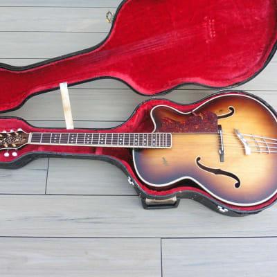 ♫ Hofner President 1957 Vintage Sunburst + Luthier Restored + H/case ♫ for sale