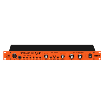 Walrus Audio TB12 Tonebeast Microphone Preamp Orange