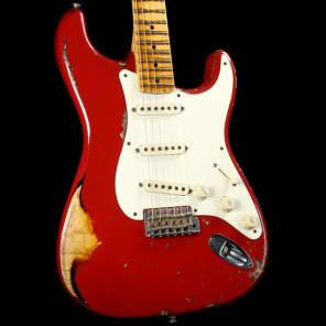 Fender Custom Shop '56 Stratocaster Ultimate Relic Masterbuilt  Yuriy Shishkov Red Used