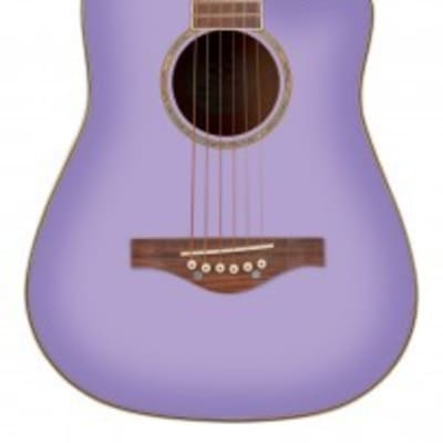 DAISY ROCK WILDWOOD SHORT SCALE ACOUSTIC - PURPLE DAZE for sale