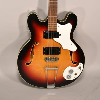 1967 Mosrite Celebrity III Sunburst Finish Vintage Electric Guitar USA w/HSC for sale