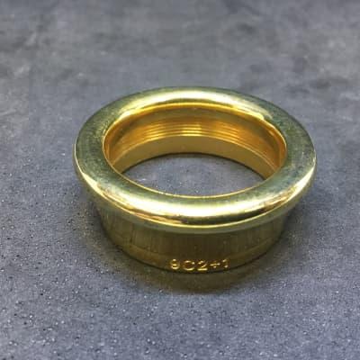 Used Latzsch 9C2 1 Gold Plate Bass Trombone Rim [836]