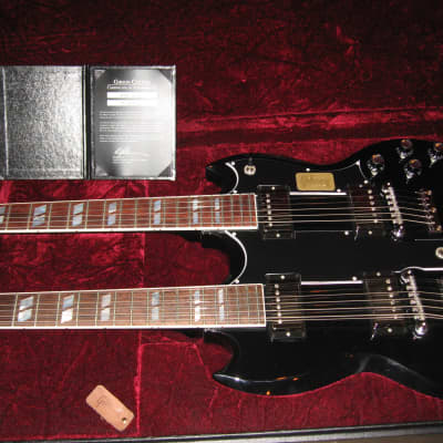 Gibson EDS-1275 2015 Custom Shop Benchmark  Limited Edition1960's Reissue Ebony for sale