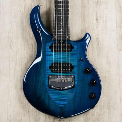 Ernie Ball Music Man John Petrucci Majesty, 7-String, Blue Honu