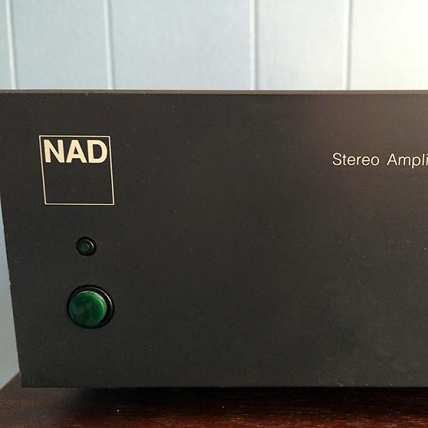 NAD 902 Stereo Power Amplifier   Jerzy's Gear