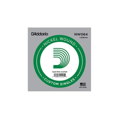 D'Addario NW064 Nickel Wound Electric Single String