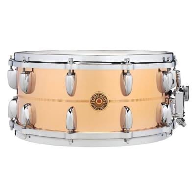 """Gretsch G4164C USA Copper 6.5x14"""" 20-Lug Snare Drum"""