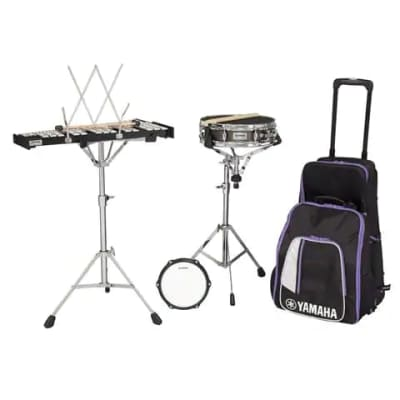 Yamaha SCK285R Educational Mini Combo Percussion Kit w/ Backpack & Rolling Cart