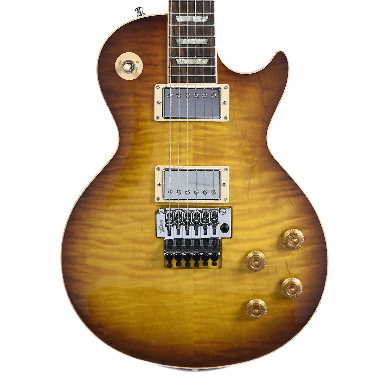 Gibson Custom Alex Lifeson Les Paul Axcess Viceroy Brown Wfloyd