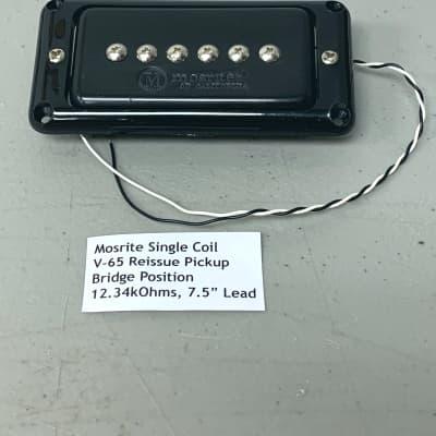 Mosrite Ventures V-65 Reissue Guitar Pickup 12.34kOhms Black