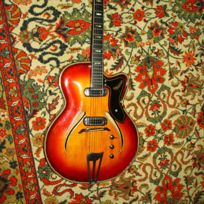 Musima Record 17 Electric Guitar VINTAGE RARE GDR 1965 for sale
