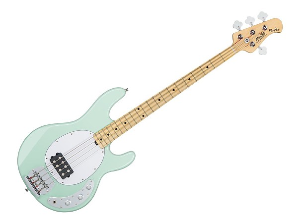 sterling by music man ray4 bass guitar mint green maple reverb. Black Bedroom Furniture Sets. Home Design Ideas