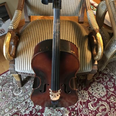 Kay model 55 (3/4 size cello). 1941. Brown for sale