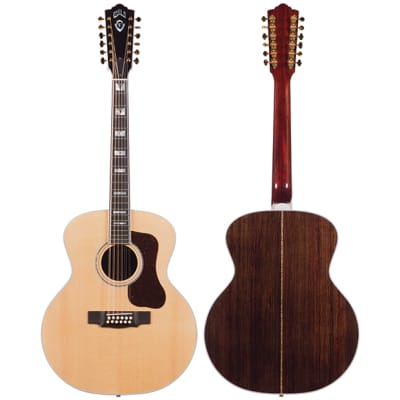 Guild USA F-512 12 String Jumbo Guitar for sale