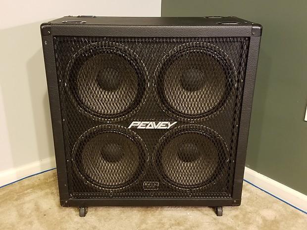 Peavey 412M Straight 4x12 Guitar Speaker Cabinet | Reverb