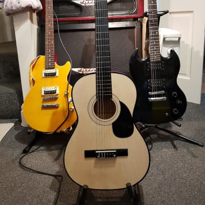Ready Ace Acoustic  Brown & Tan for sale