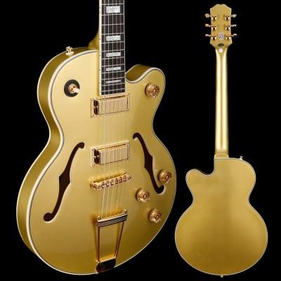 Epiphone ETUETGMGH1 Uptown Kat ES, Topaz Gold Metallic 879 7lbs 0.4oz for sale
