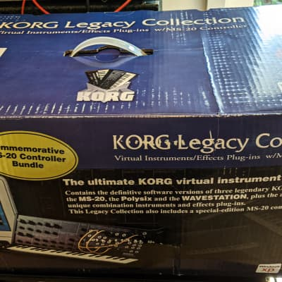 Korg MS-20ic Midi Controller for Gadget and Korg Collection Virtual Synths - Brand New!