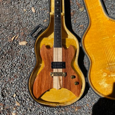 Moonstone 1984 Prototype 25.5 Scale Moonstone Luthier, Steve Helgeson.  Brazilian, Paperwork.  HSC for sale