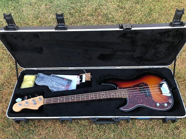 fender american standard precision bass lefty 2011 3 color reverb. Black Bedroom Furniture Sets. Home Design Ideas