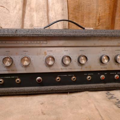 silvertone model 1484 twin twelve amplifier head 1960's $ 550 00