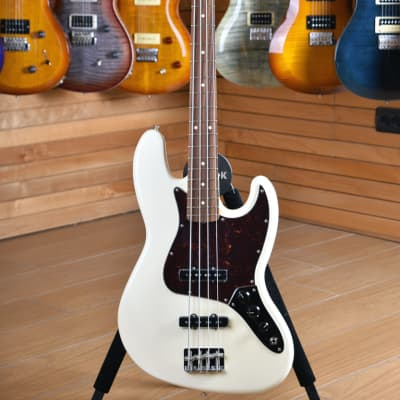 Fender Mexico Classic Seriee '60s Jazz Bass Lacquer  Olimpic White for sale