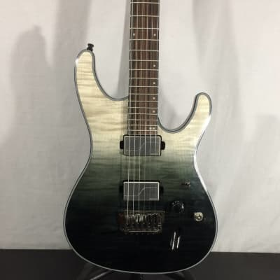 Ibanez S61ALBML S Axion Label Electric Guitar, Black Mirage Gradation Low Gloss - Customer Return