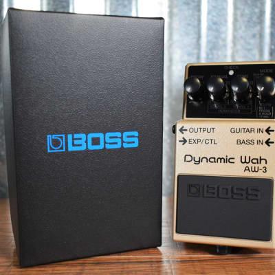 Boss AW-3 Dynamic Wah Guitar Effect Pedal