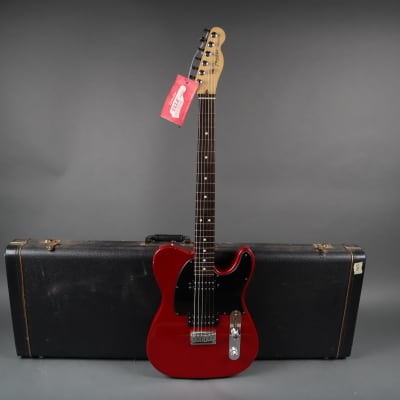 Fender American Tele Fat HH - S-1 Switch 2004 Chrome Red w/ Hardshell Case for sale