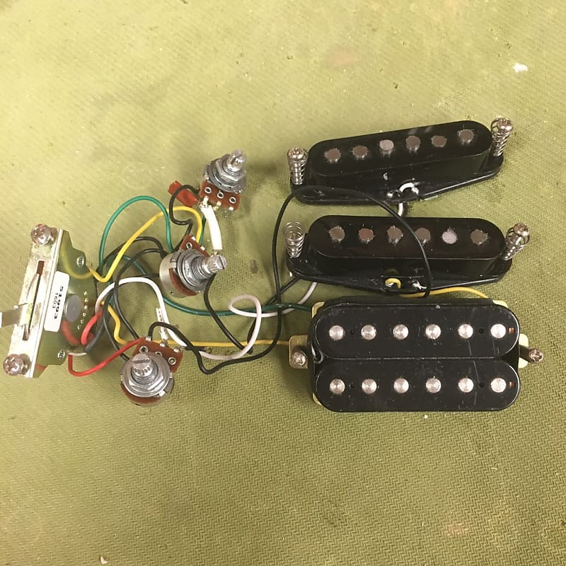 Import HSS Wiring Harness | Luthier's Workshop | Reverb on